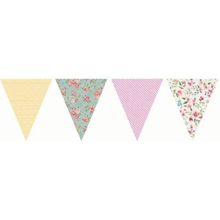 English_Vintage_Floral_Design_Party_Bunting