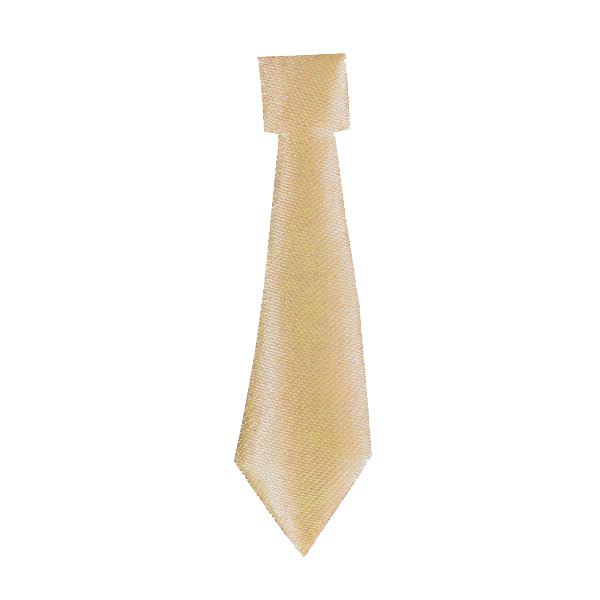 corbata dorado