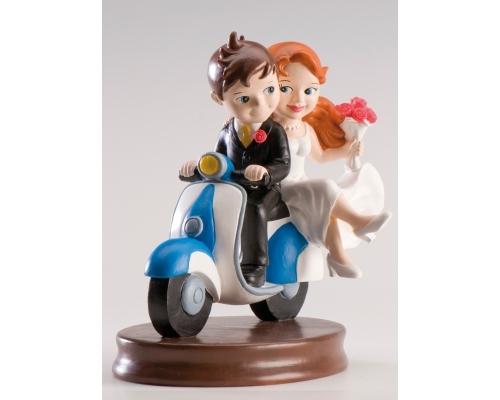 detalles-de-boda-figura-novios-en-moto