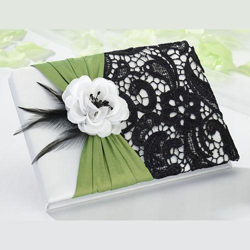 elegante-libro-de-firmas-negro-verde-sublime-wedding-shop