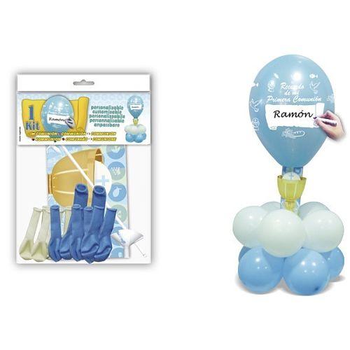 kit-de-globos-personalizable-comunion-azul-sublime-wedding-shop