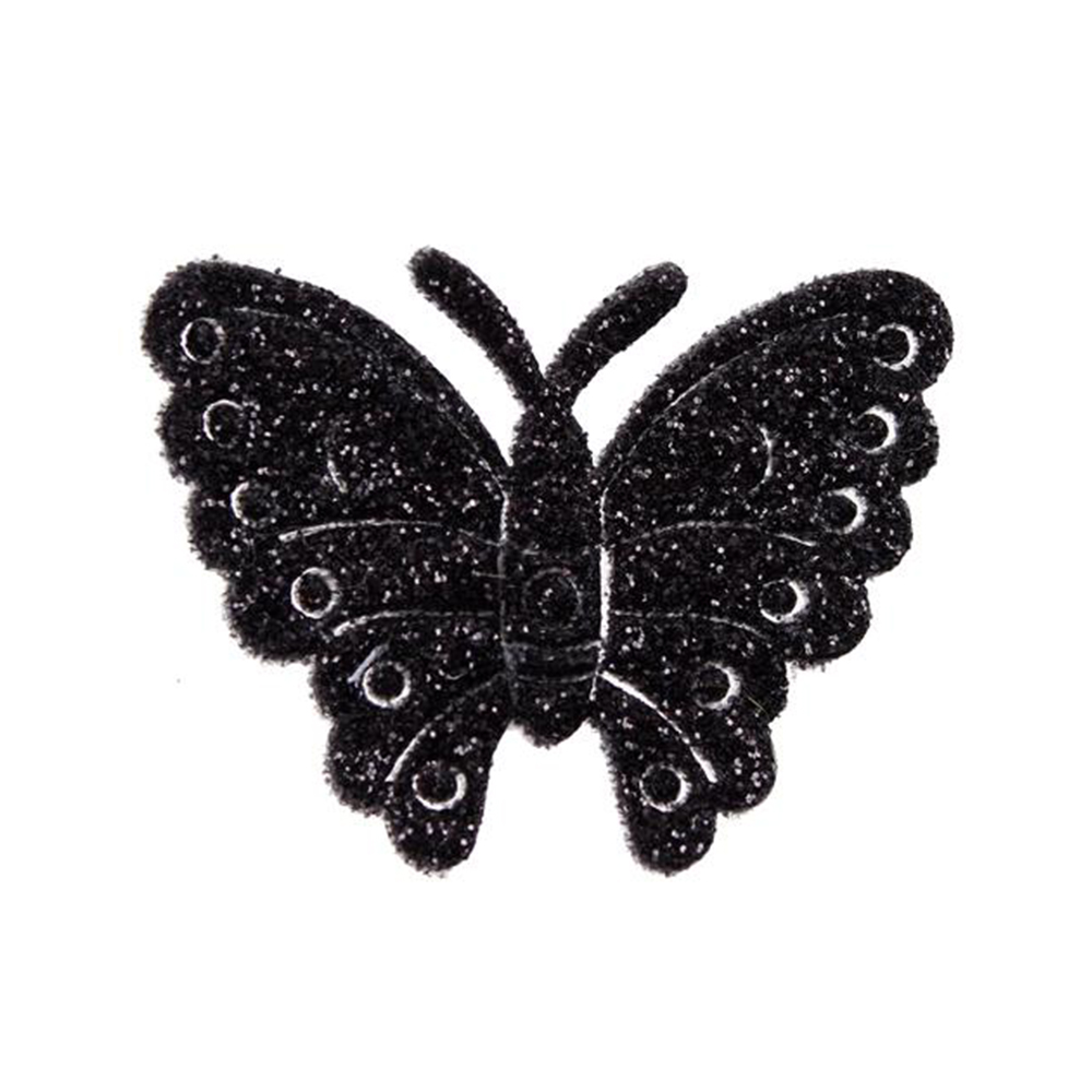 mariposa-brillantina-negro