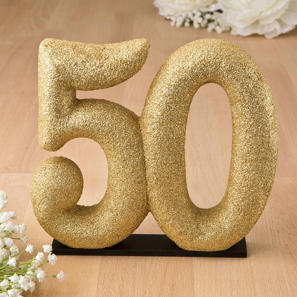 Figura tarta número 50 aniversario