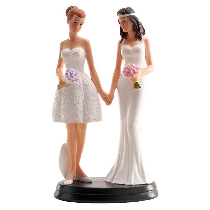 Figura tarta pareja lesbiana