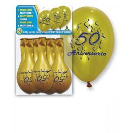 globos-dorados 50 aniversario