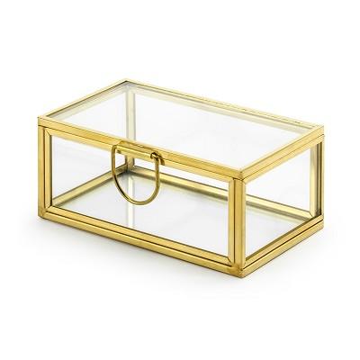Cajita Porta Alianzas de Cristal