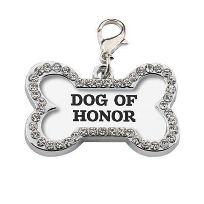 Collar de diamantes para perros boda