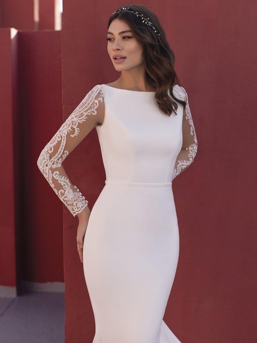 modelo rosin white one pronovias sublime wedding shop