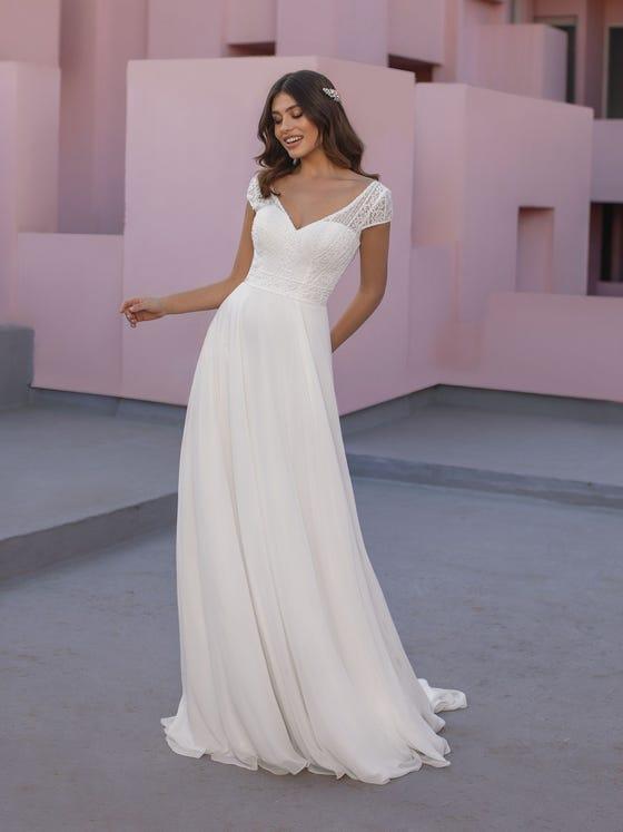 vestido de novia olek white one front