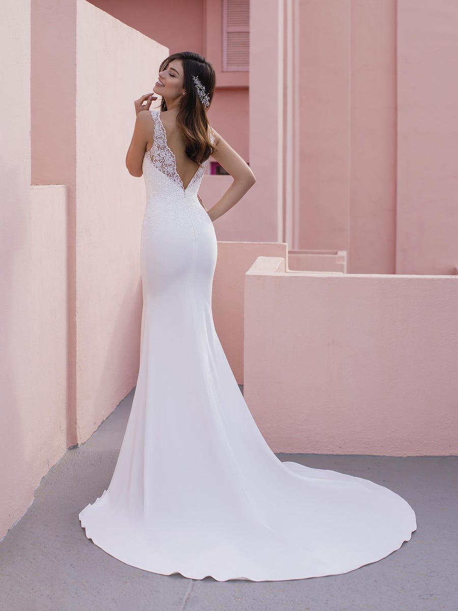 vestido novia coneflower white one sublime wedding shop