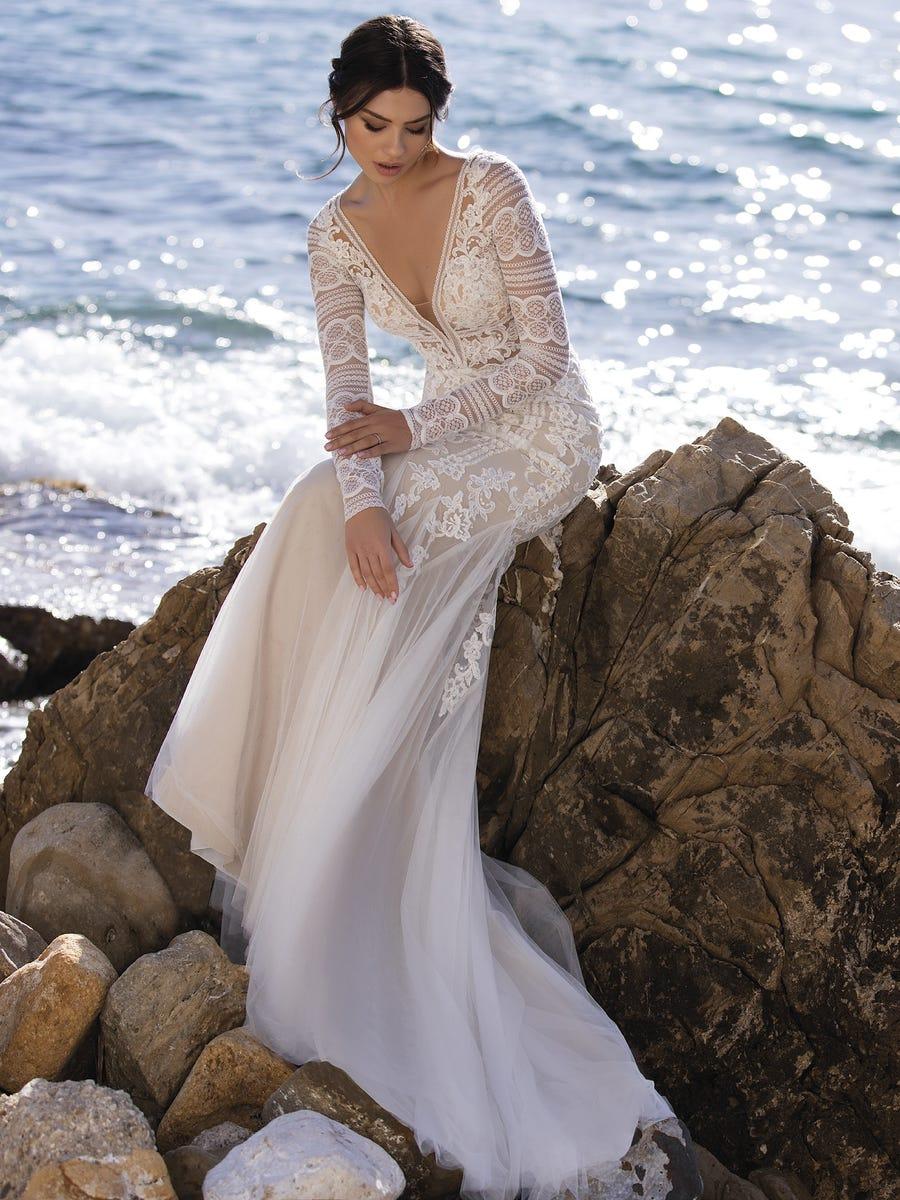 vestido novia romulea white one sublime wedding shop
