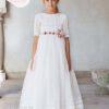 VESTIDO-COMUNION-AMAYA-517101MD-SUBLIME-WEDDING-SHOP