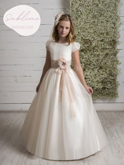 Vestido-comunion-clasico-Q539-lola-rosillo-sublime-wedding-shop
