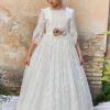 vestido comunion 2021 modelo 6407 anavig sublime wedding shop_opt (2)