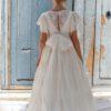 vestido comunion 2021 modelo 6427 espalda anavig sublime wedding shop