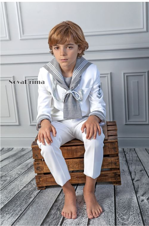 mod 47b c3.3 traje comunion marinero gris blanco novadrima sublime wedding shop