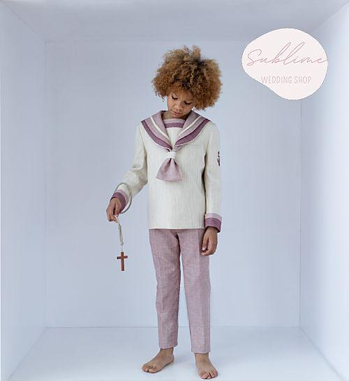 traje-comunion-marinero-rojo-rosa-novadrima-sublime-wedding-shop