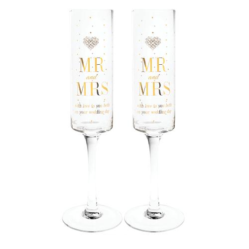 copas brindis novios Mr and Mrs
