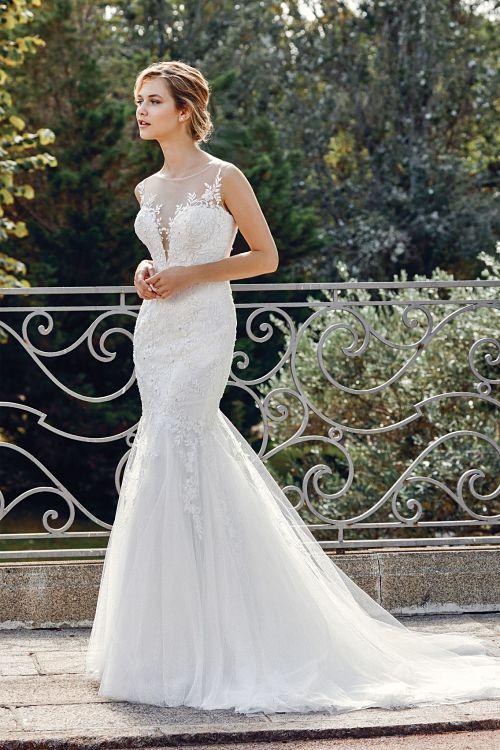 vestido novia 44019 sirena sincerity